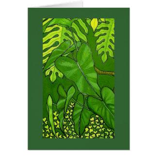 Cartão Eden tropical, detalhe