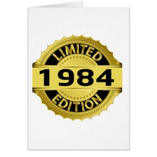 Cartão Edição 1984 limitada