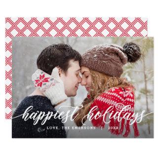 Cartão editável do feriado da cor do cumprimento
