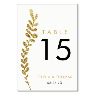 Cartão editável do número da mesa do casamento da