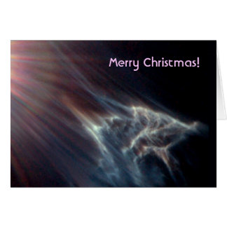 Cartão Efeito da luz das estrelas do conjunto de estrela