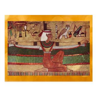 Cartão egípcio do Isis