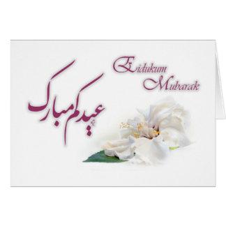 Cartão Eidukum Mubarak - Eid Mubarak
