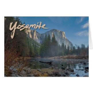 Cartão EL Capitan Yosemite Notecard