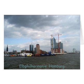 Cartão Elbphilharmonie Hamburgo