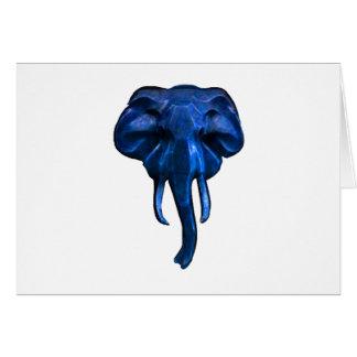 Cartão Elefante da coragem