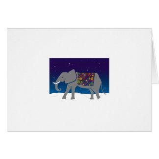 Cartão Elefante Groovy