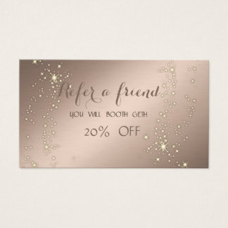 Cartão elegante, à moda,    Sparkling da