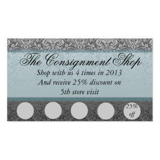 Cartão elegante da promoção do disconto cartão de visita