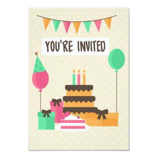 Cartão elegante do convite da celebração
