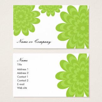 Cartão elegante moderno do cartão de visita ou dos