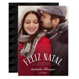 Cartão Elegante natal