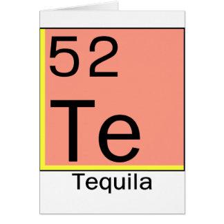 Cartão Elemento 52: Tequila