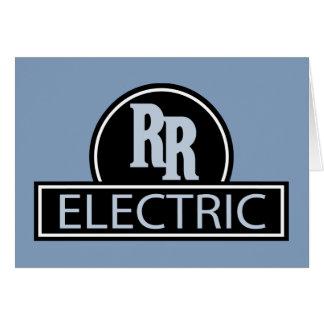Cartão elétrico do trilho rápido