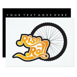 Cartão elevação e ciclo do rolo