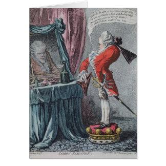 Cartão Elevação Lordly, bar. por Hannah Humphrey, 1802