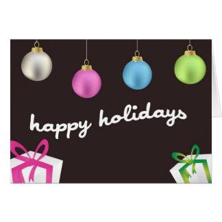 Cartão Elogio do feriado