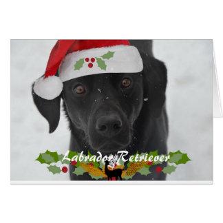Cartão Elogio do feriado de Labrador