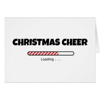 Cartão Elogio do Natal - bar do progresso - carga