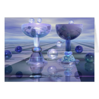 Cartão Elogios com bolhas