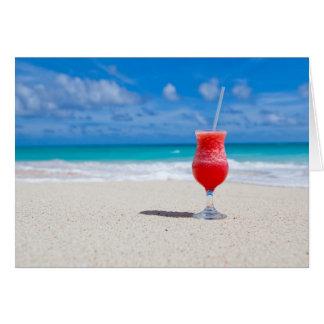 Cartão Elogios da praia