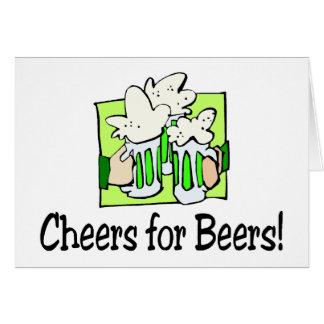 Cartão Elogios para o dia do rissol da rua das cervejas