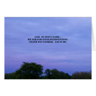 Cartão Em MEU NOME (j16: 24)