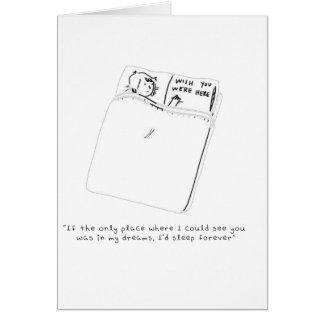 Cartão Em meus sonhos