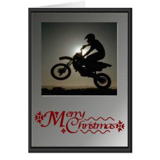 Cartão Em sua bicicleta!