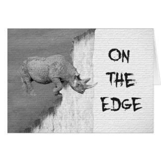Cartão Em The Edge