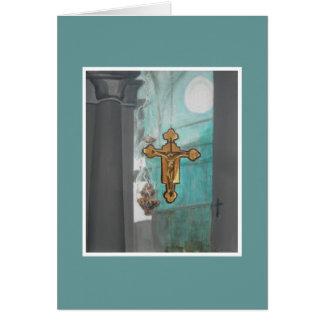 Cartão Em um artigo 2 da igreja