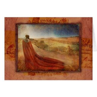 Cartão Em um sonho de Maasai