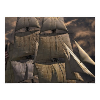 Cartão Embarcação do navio de navigação