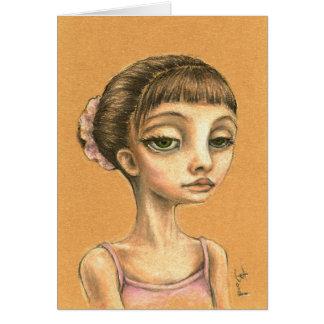 Cartão Emma - dançarino de balé