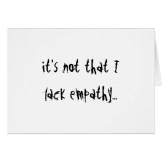 Cartão Empatia