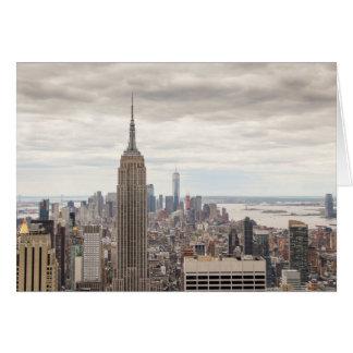 Cartão Empire State Building, NYC