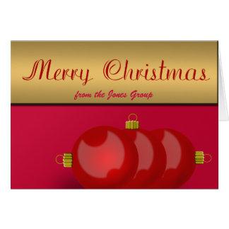 Cartão Empregador, gestor de projecto, Natal do líder da