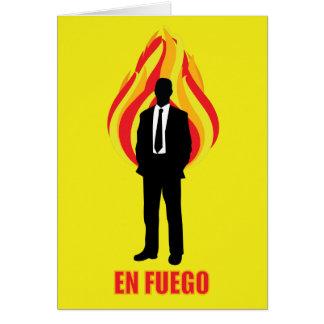 Cartão En Fuego