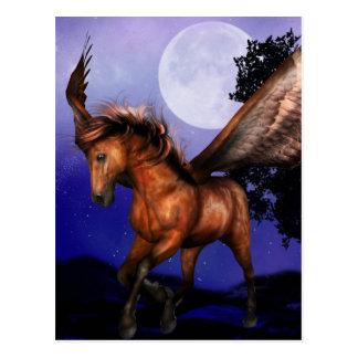 Cartão Enchanted de Pegasus