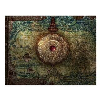 cartão encontrado do tesouro