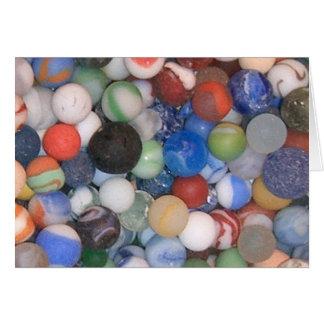 Cartão Encontrado nos mármores da praia