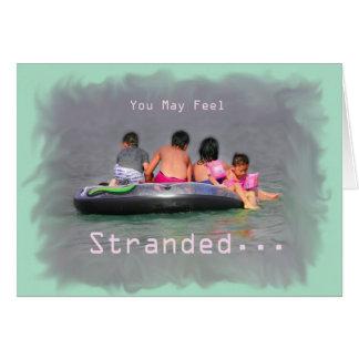 Cartão encorajador da amizade