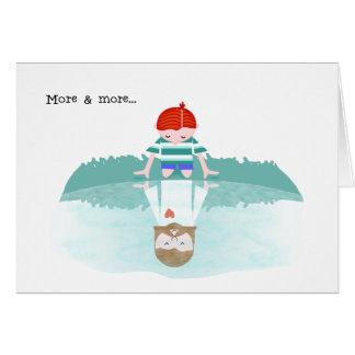 Cartão Encouragement>MORE & MAIS GOSTAM de JESUS,