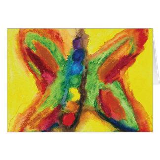 Cartão energético de Chakra Flutterbys