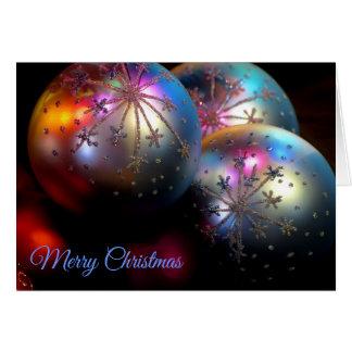 Cartão Enfeites de natal 2011 2