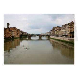 Cartão Enfileirando o Arno