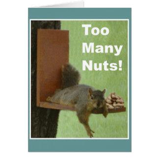 Cartão engraçado da aposentadoria: Loucos demais!