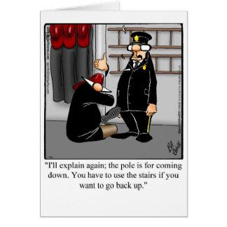 Cartão engraçado da boa vinda do humor dos