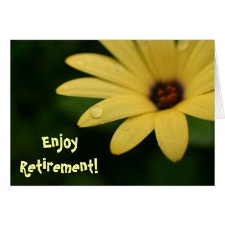 Cartão engraçado da flor do amarelo das citações