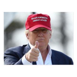 Cartão engraçado de Donald Trump